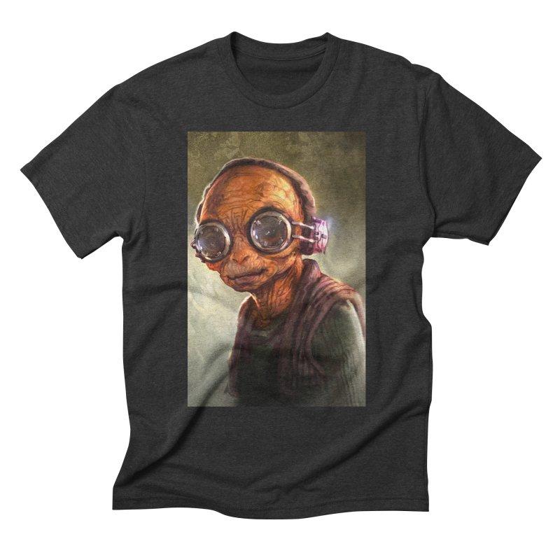 Star Wars - Maz Kanata Men's Triblend T-Shirt by Evolution Comics INC