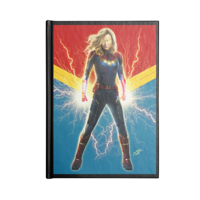 Captain Marvel Accessories Notebook by Evolution Comics INC