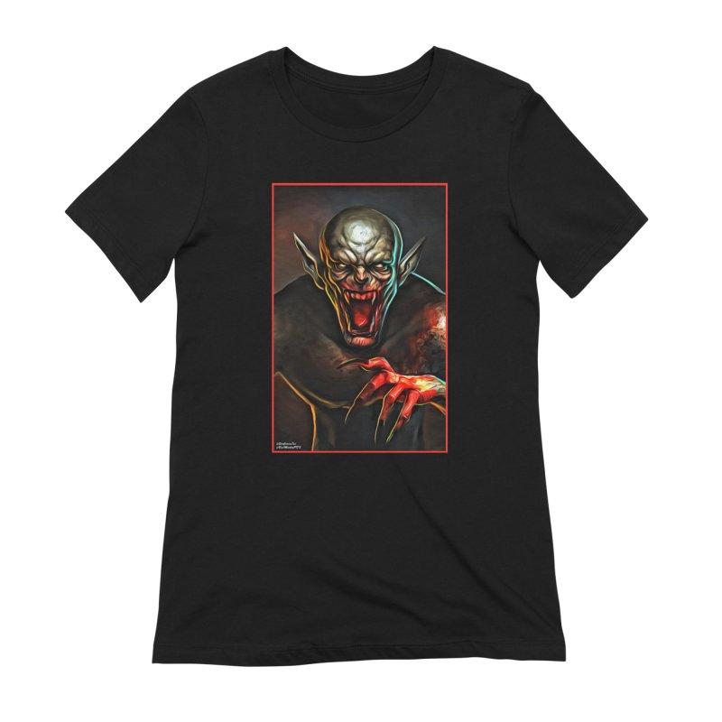 Universal - Vampire Women's Extra Soft T-Shirt by Evolution Comics INC