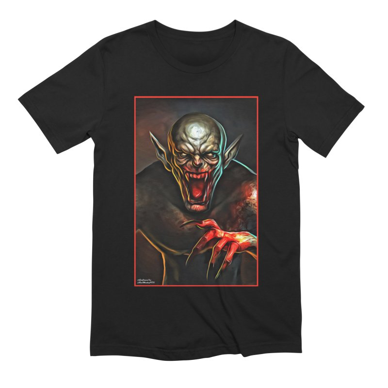 Universal - Vampire Men's Extra Soft T-Shirt by Evolution Comics INC