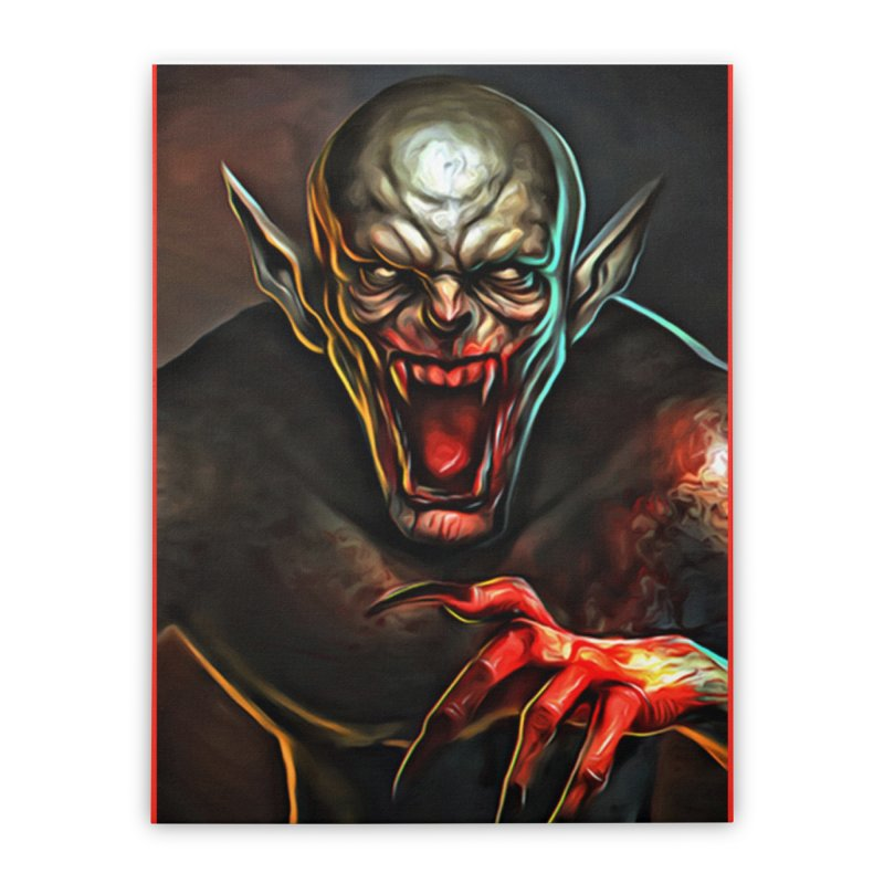 Universal - Vampire Home Stretched Canvas by Evolution Comics INC
