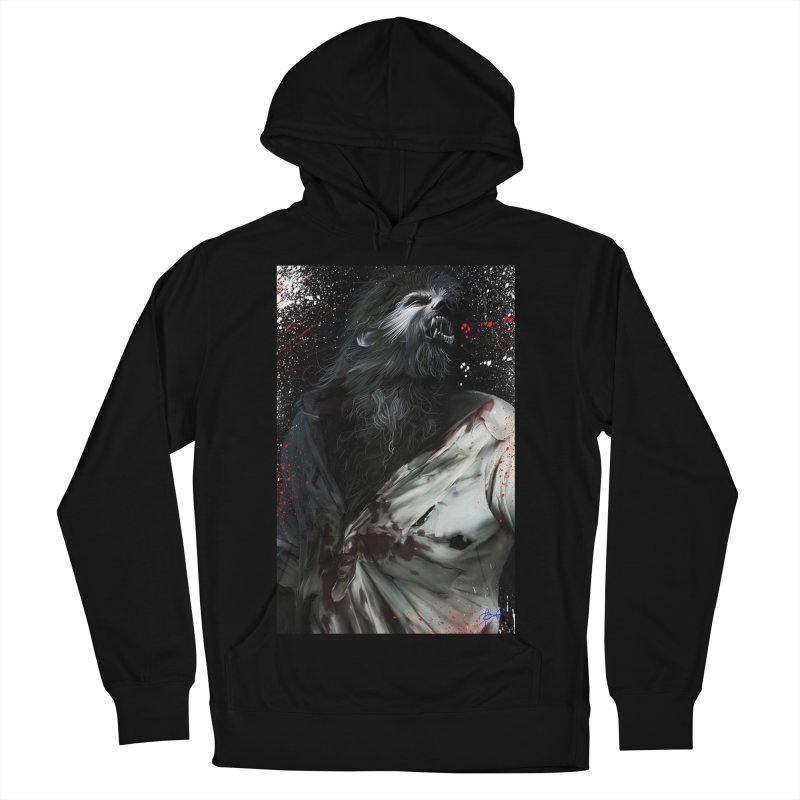 Universal - Wolfman Women's French Terry Pullover Hoody by Evolution Comics INC