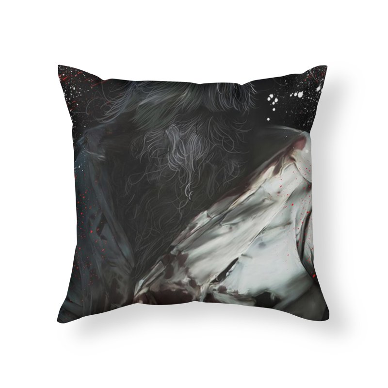 Universal - Wolfman Home Throw Pillow by Evolution Comics INC