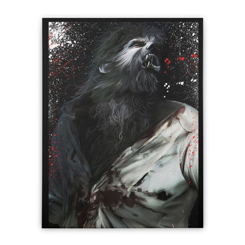 Universal - Wolfman Home Stretched Canvas by Evolution Comics INC