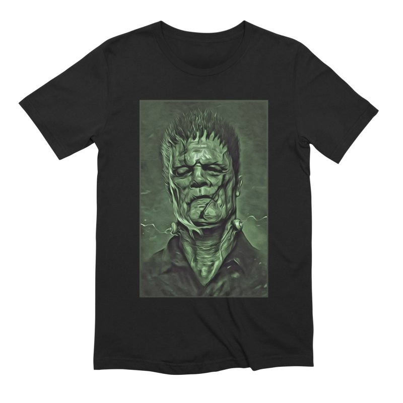 Universal - Frankenstein Men's Extra Soft T-Shirt by Evolution Comics INC