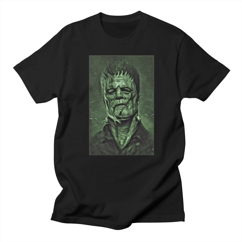 Universal - Frankenstein Men's T-Shirt by Evolution Comics INC