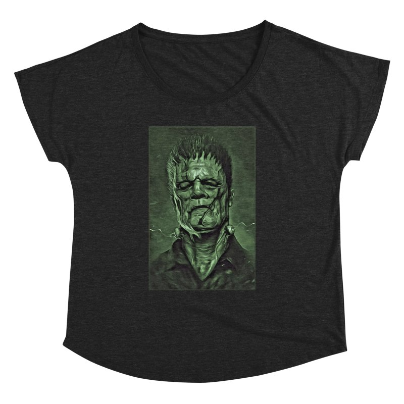 Universal - Frankenstein Women's Dolman Scoop Neck by Evolution Comics INC