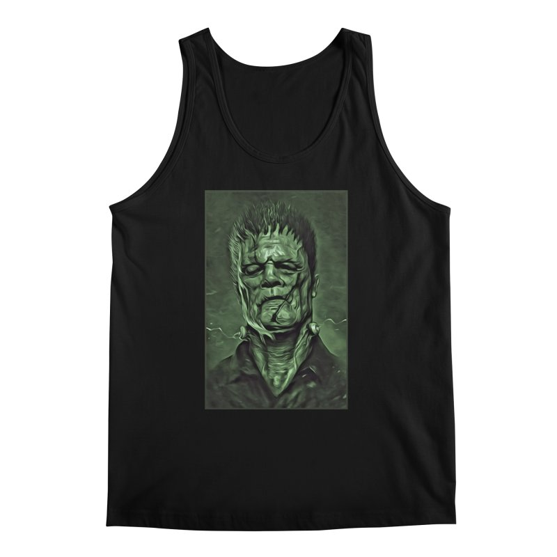 Universal - Frankenstein Men's Regular Tank by Evolution Comics INC
