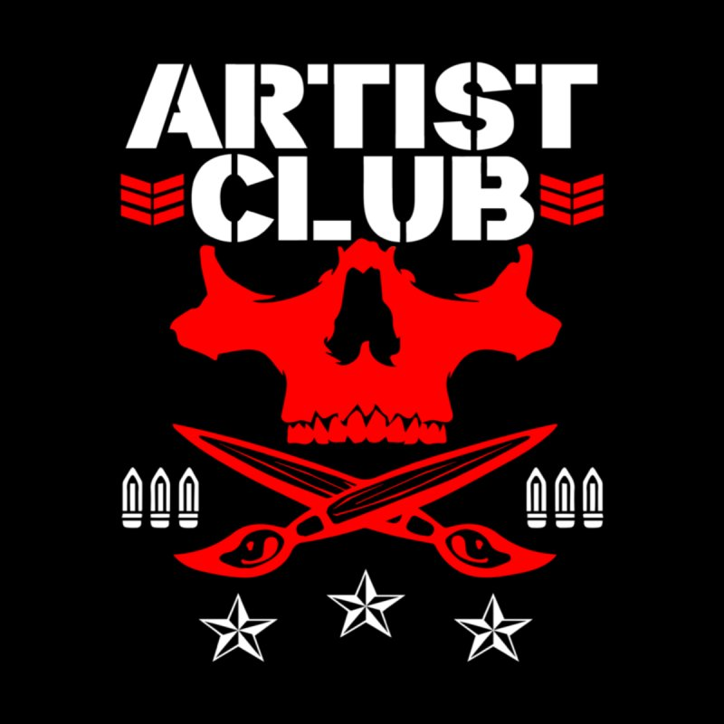 Artist Club Men's T-Shirt by Evolution Comics INC