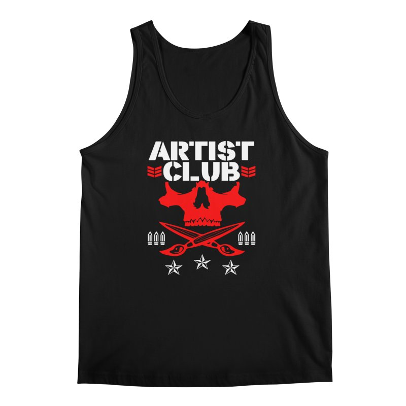 Artist Club Men's Regular Tank by Evolution Comics INC