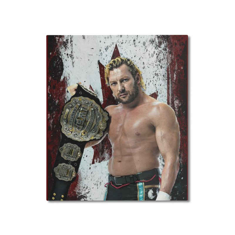 Kenny Omega Home Mounted Aluminum Print by Evolution Comics INC