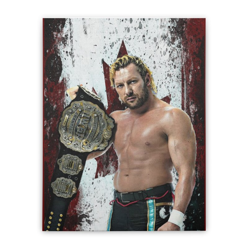 Kenny Omega Home Stretched Canvas by Evolution Comics INC