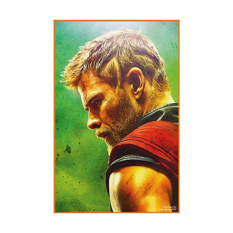 Thor (Short Hair) Men's T-Shirt by Evolution Comics INC