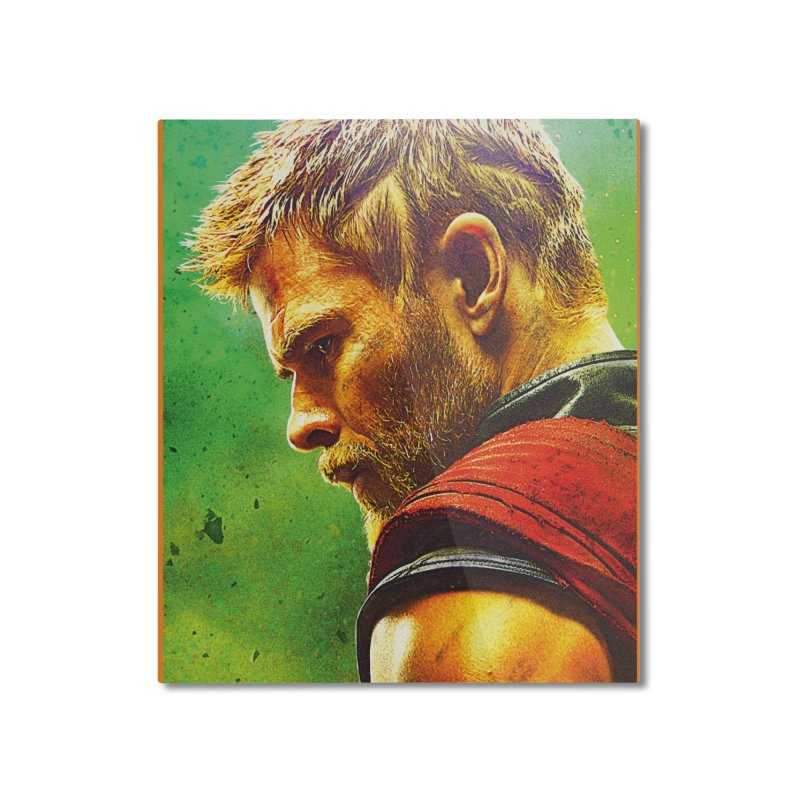Thor (Short Hair) Home Mounted Aluminum Print by Evolution Comics INC