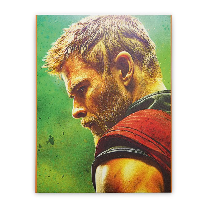 Thor (Short Hair) Home Stretched Canvas by Evolution Comics INC