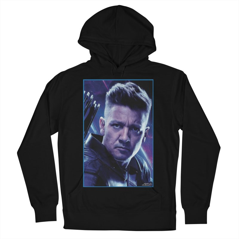 Hawkeye Women's French Terry Pullover Hoody by Evolution Comics INC