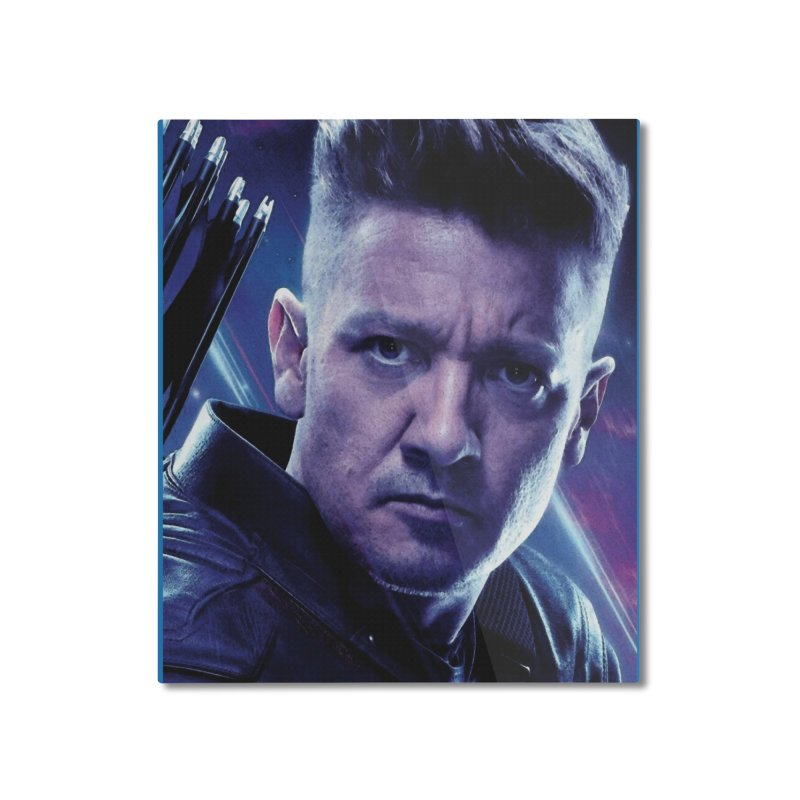 Hawkeye Home Mounted Aluminum Print by Evolution Comics INC