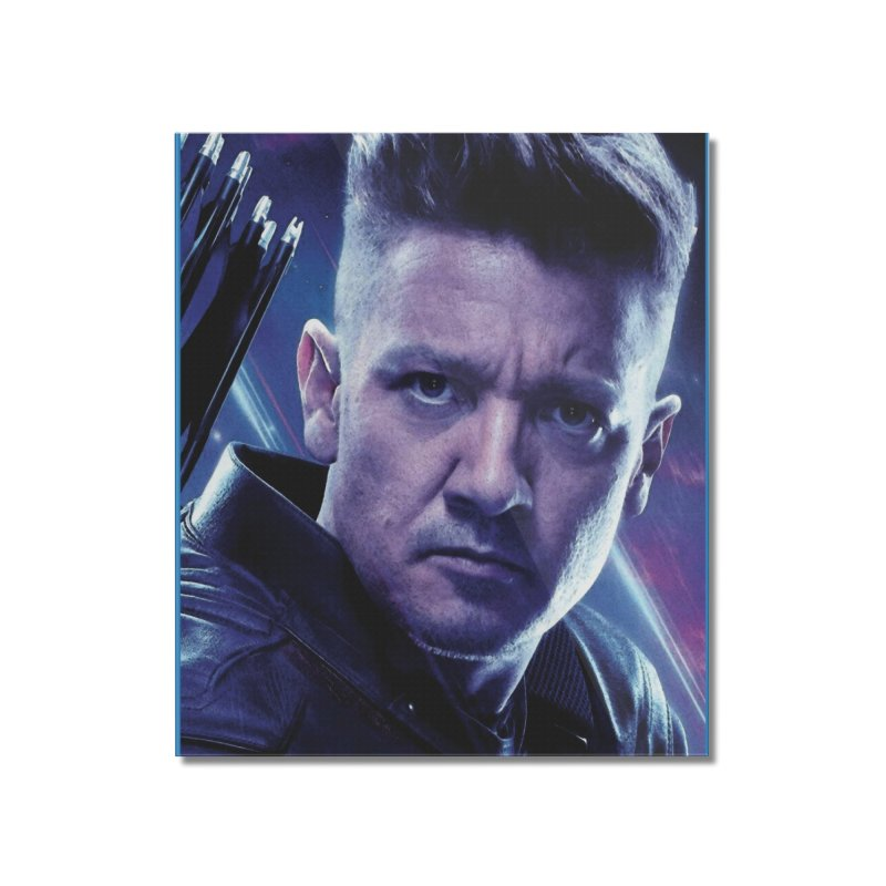 Hawkeye Home Mounted Acrylic Print by Evolution Comics INC
