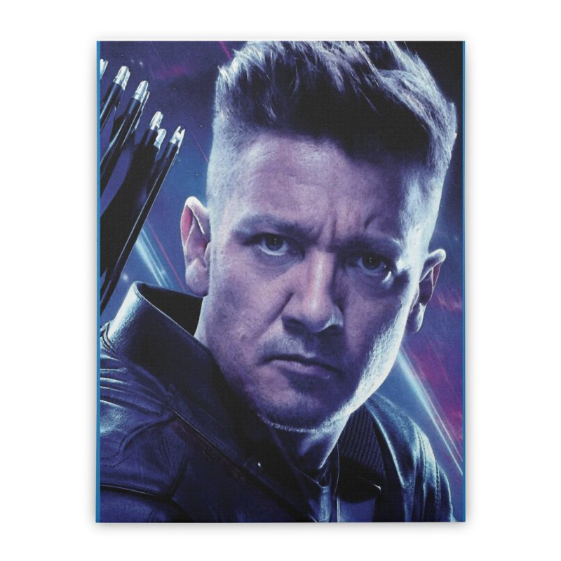Hawkeye Home Stretched Canvas by Evolution Comics INC