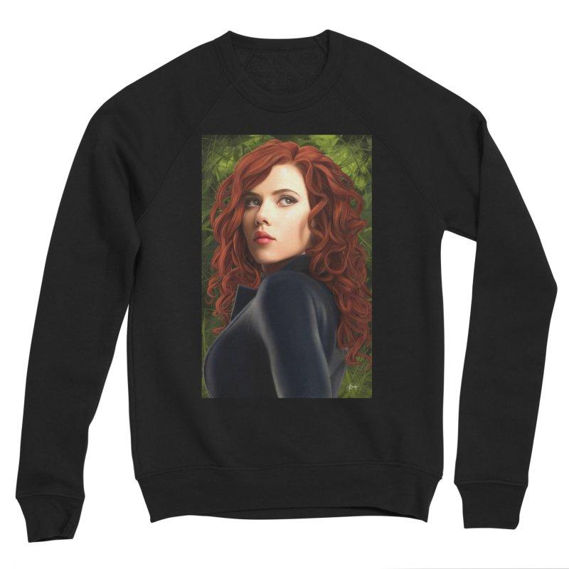 Black Widow Women's Sponge Fleece Sweatshirt by Evolution Comics INC