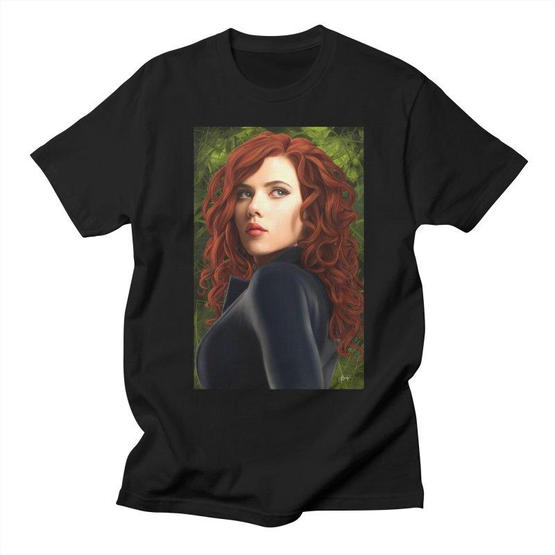 Black Widow Women's Regular Unisex T-Shirt by Evolution Comics INC