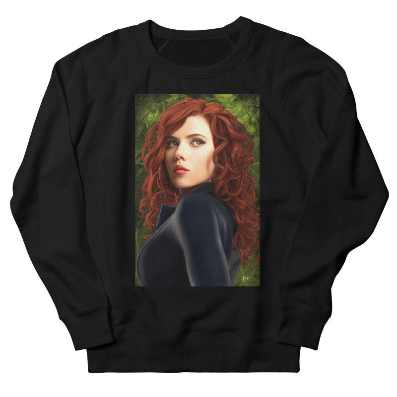 Black Widow Women's French Terry Sweatshirt by Evolution Comics INC