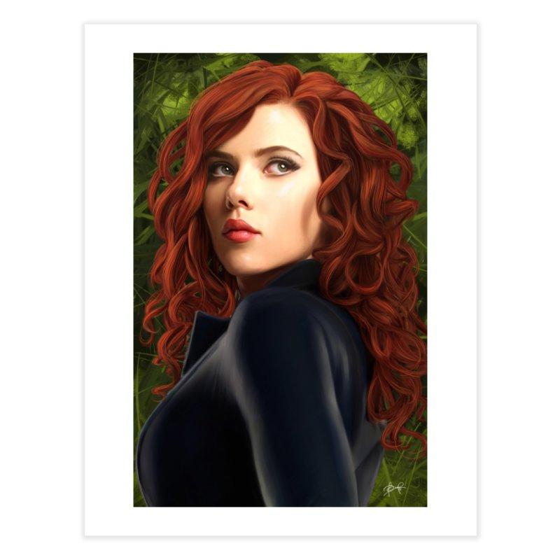 Black Widow Home Fine Art Print by Evolution Comics INC