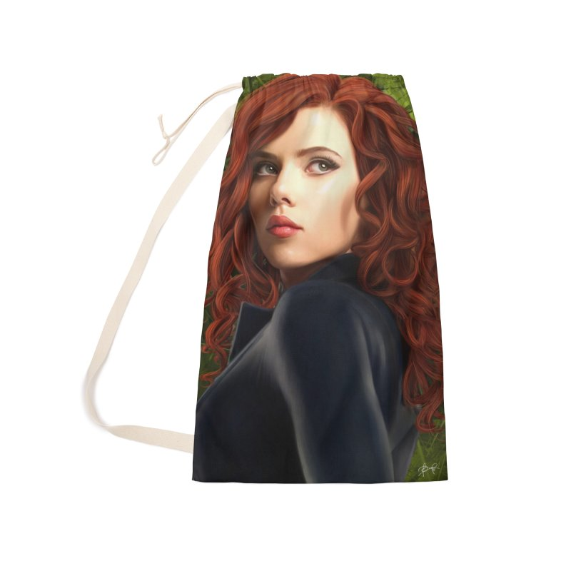 Black Widow Accessories Laundry Bag Bag by Evolution Comics INC