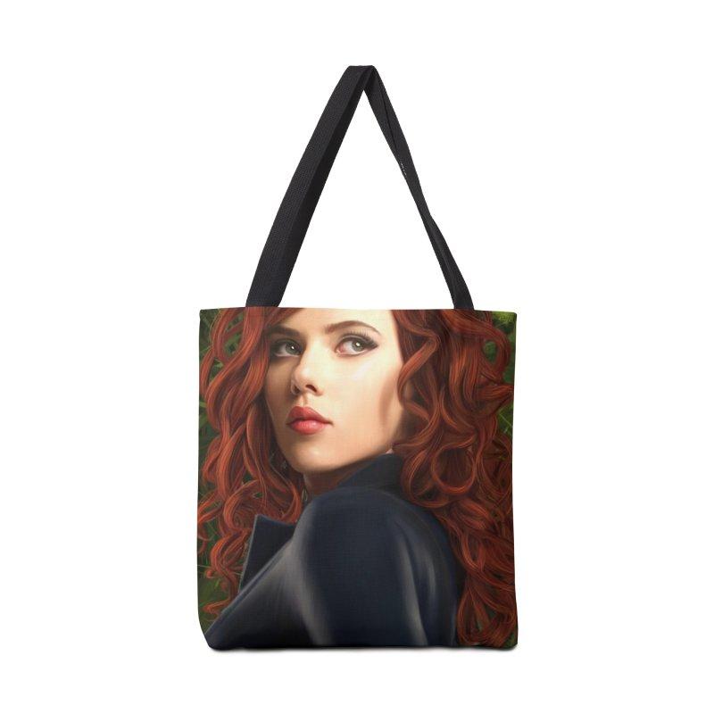 Black Widow Accessories Tote Bag Bag by Evolution Comics INC
