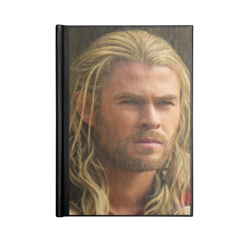 Thor Accessories Lined Journal Notebook by Evolution Comics INC