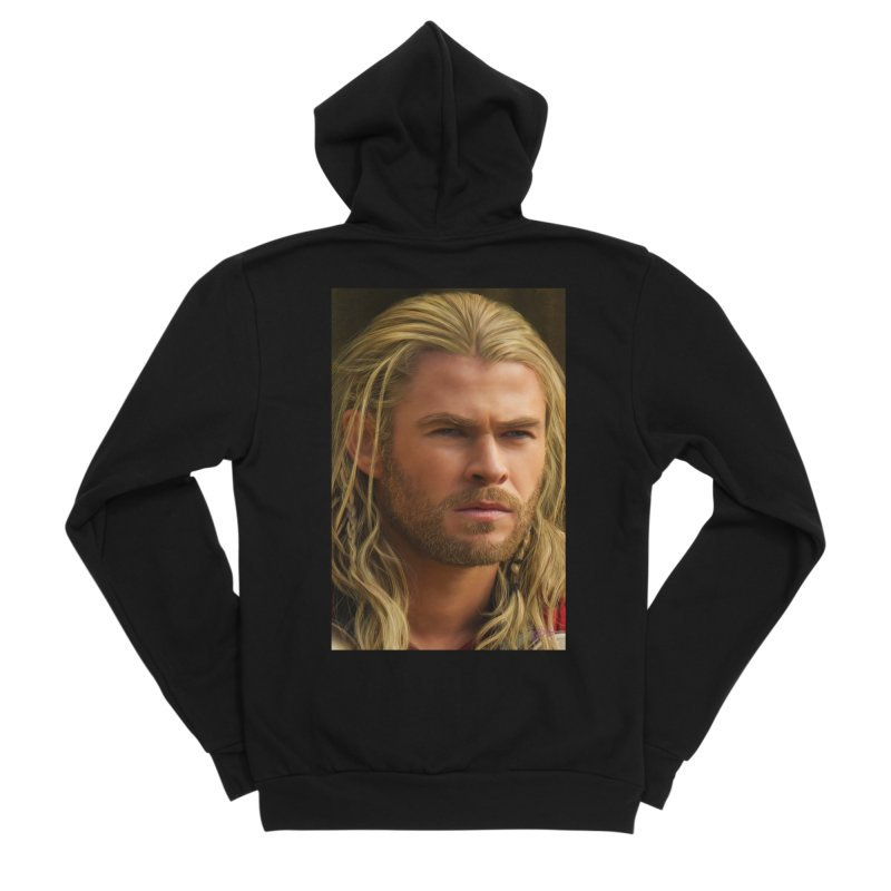 Thor Men's Sponge Fleece Zip-Up Hoody by Evolution Comics INC