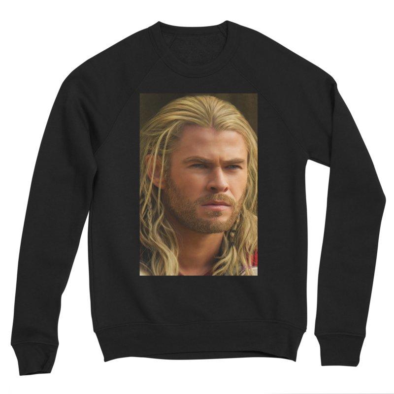 Thor Men's Sponge Fleece Sweatshirt by Evolution Comics INC