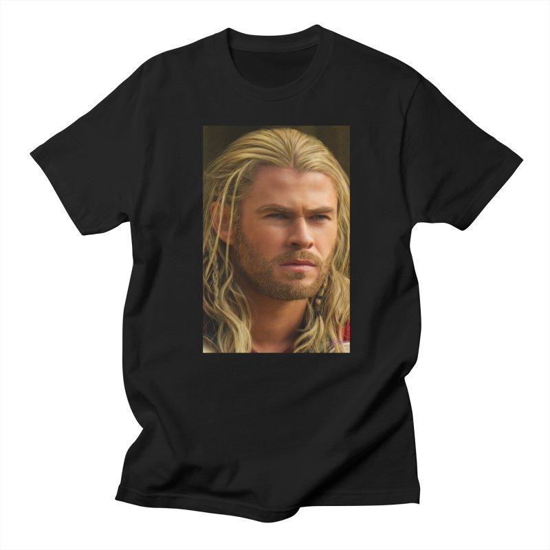 Thor Men's T-Shirt by Evolution Comics INC