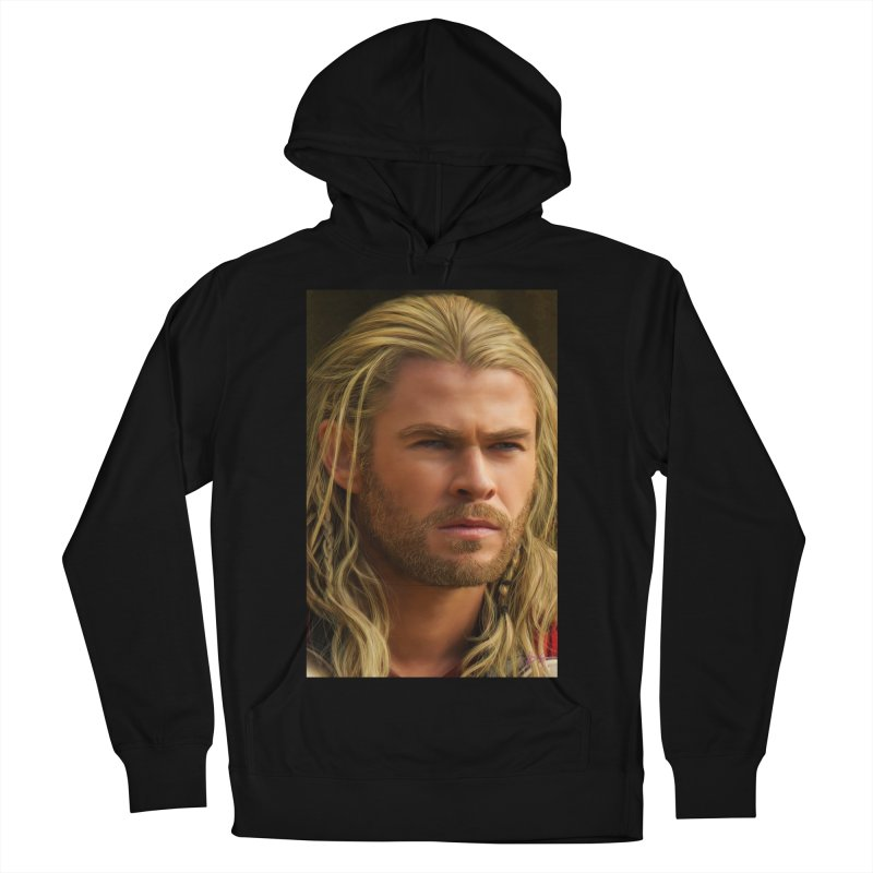 Thor Men's French Terry Pullover Hoody by Evolution Comics INC