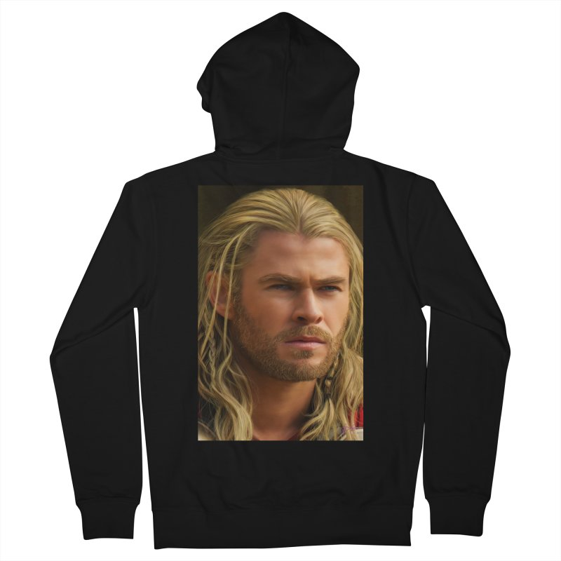 Thor Women's French Terry Zip-Up Hoody by Evolution Comics INC