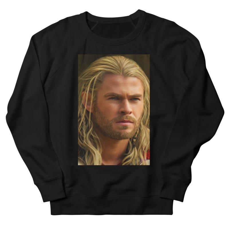 Thor Women's French Terry Sweatshirt by Evolution Comics INC