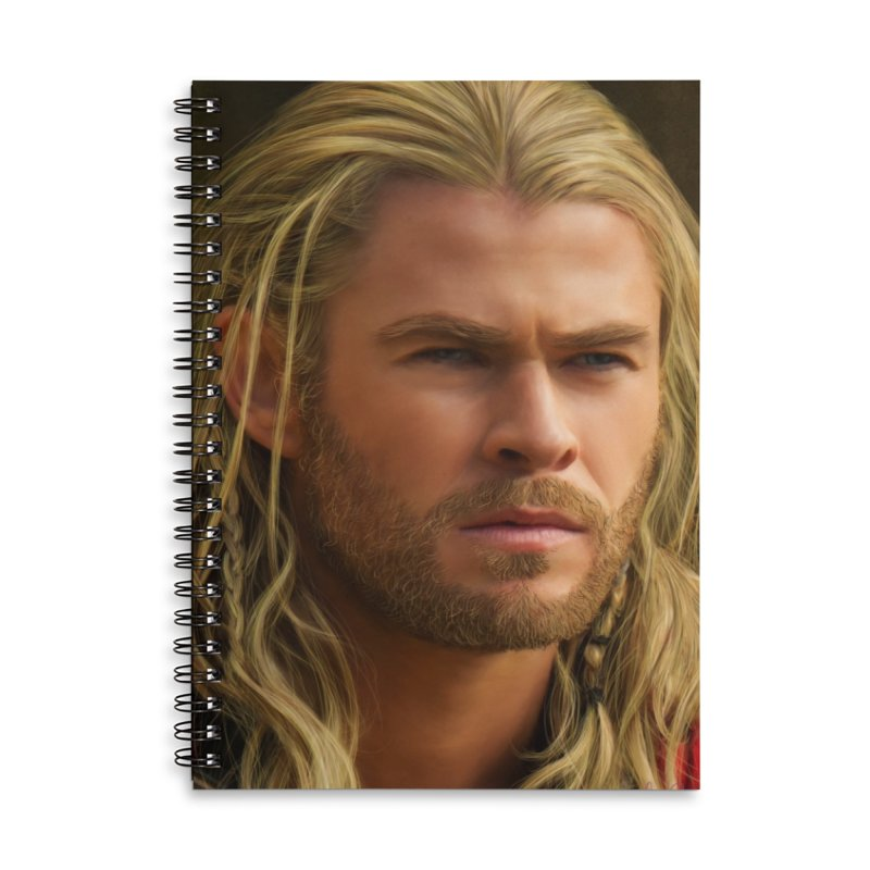 Thor Accessories Lined Spiral Notebook by Evolution Comics INC