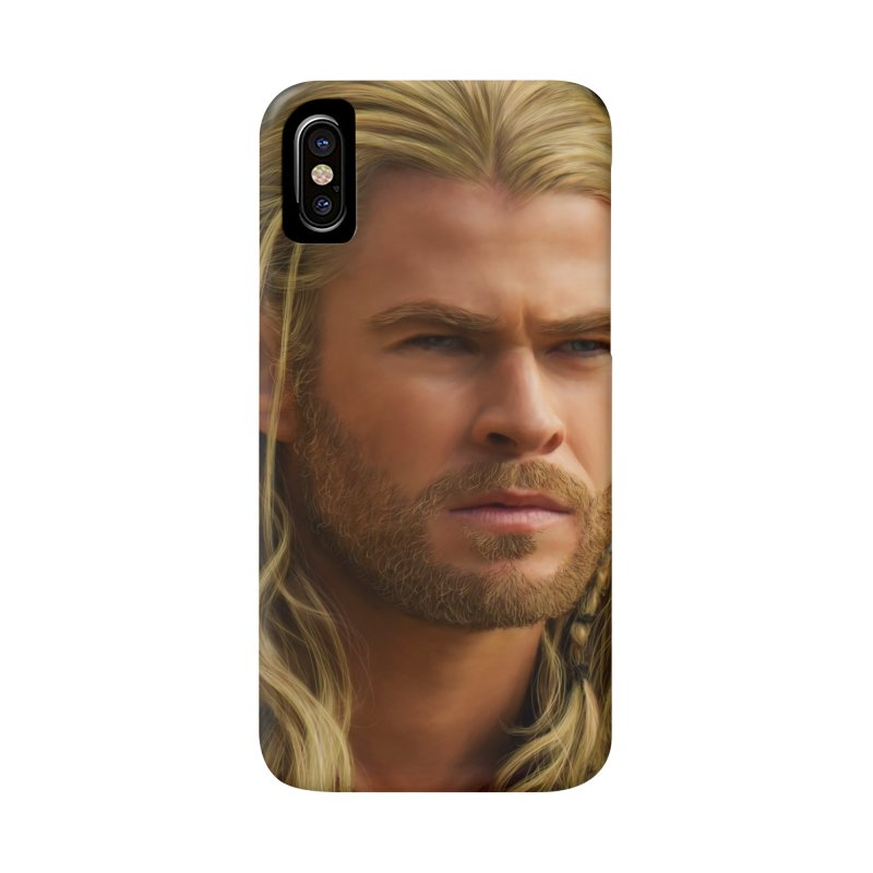 Thor Accessories Phone Case by Evolution Comics INC