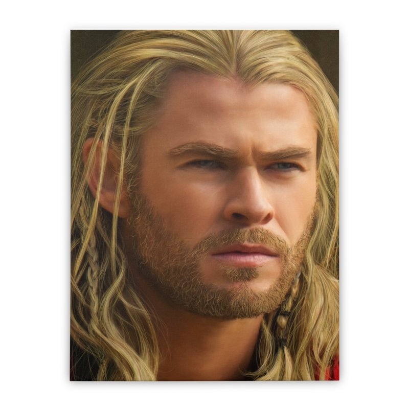 Thor Home Stretched Canvas by Evolution Comics INC