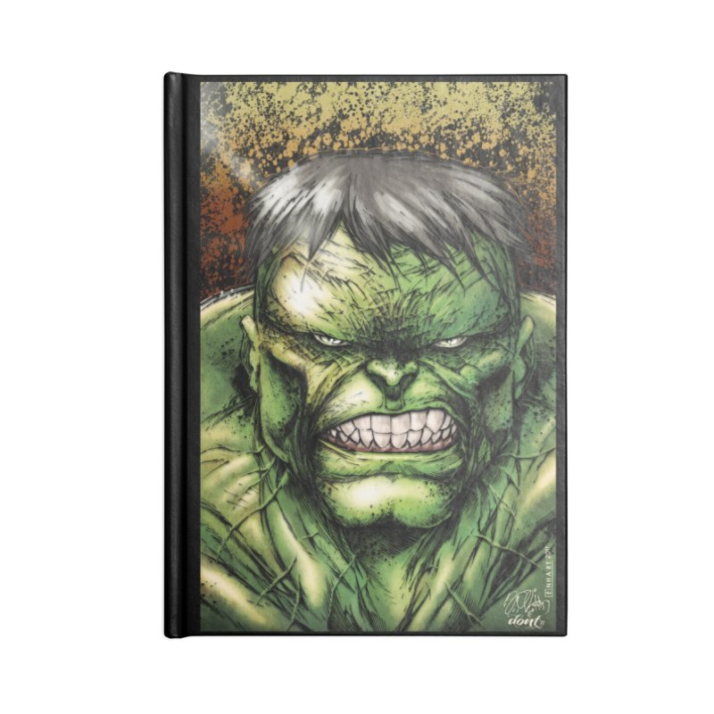 Hulk Accessories Blank Journal Notebook by Evolution Comics INC