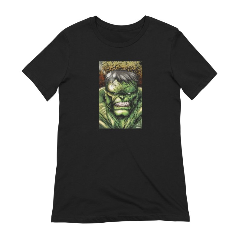Hulk Women's Extra Soft T-Shirt by Evolution Comics INC
