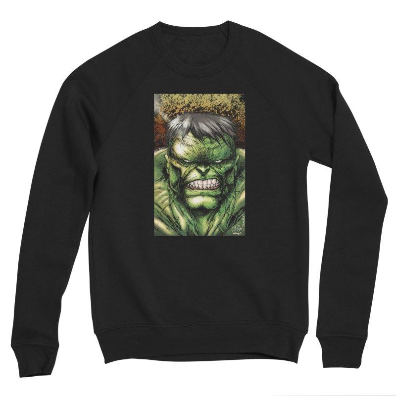 Hulk Men's Sponge Fleece Sweatshirt by Evolution Comics INC