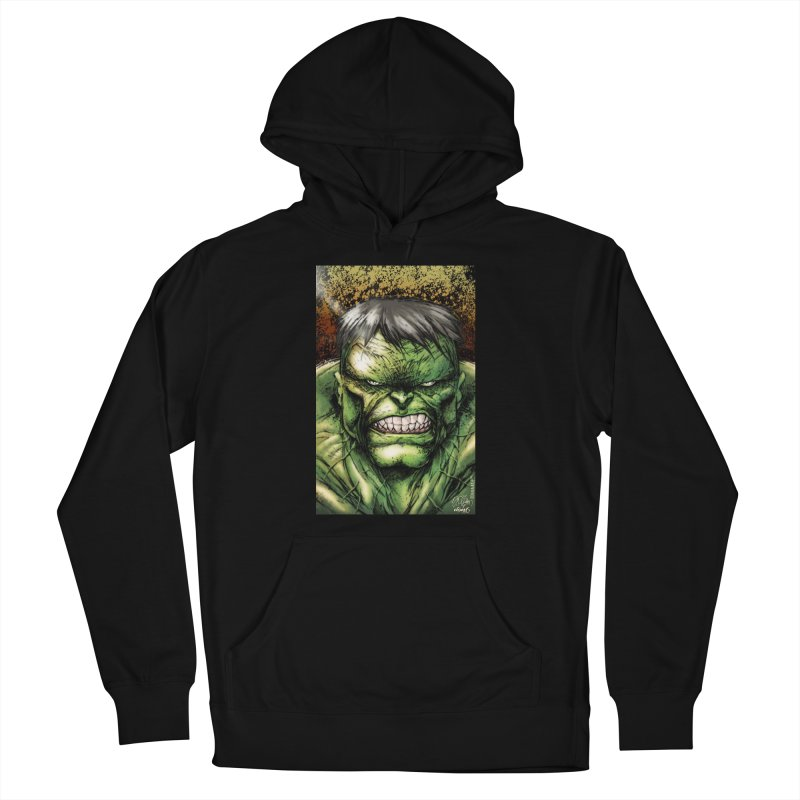 Hulk Men's French Terry Pullover Hoody by Evolution Comics INC