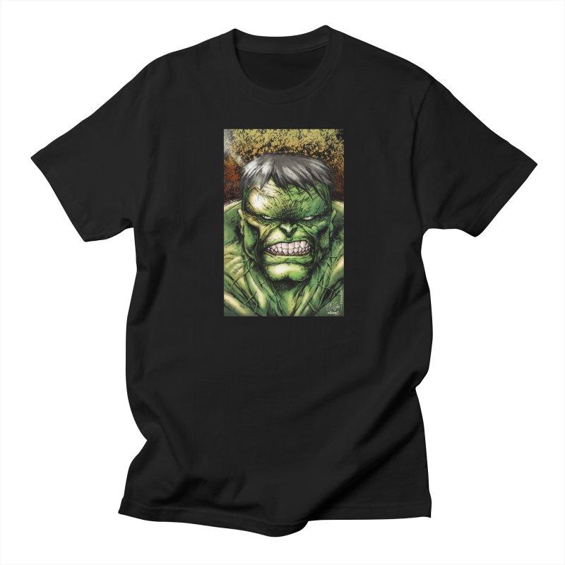 Hulk Women's Regular Unisex T-Shirt by Evolution Comics INC