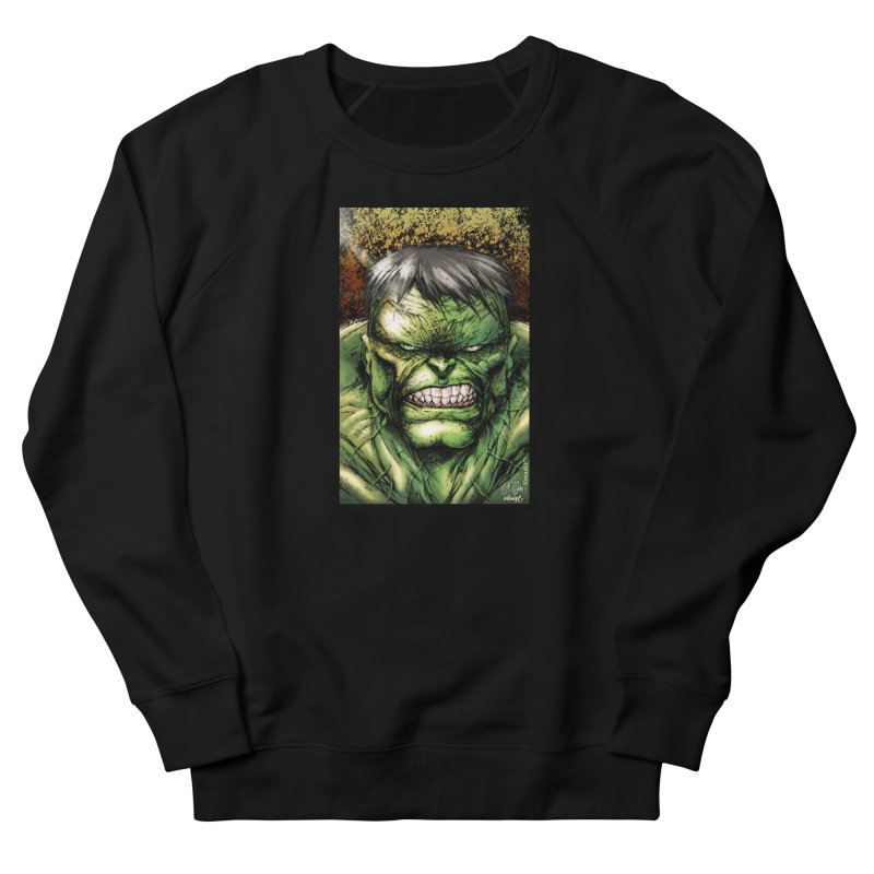 Hulk Women's French Terry Sweatshirt by Evolution Comics INC