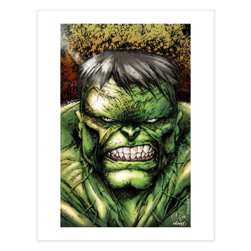 Hulk Home Fine Art Print by Evolution Comics INC