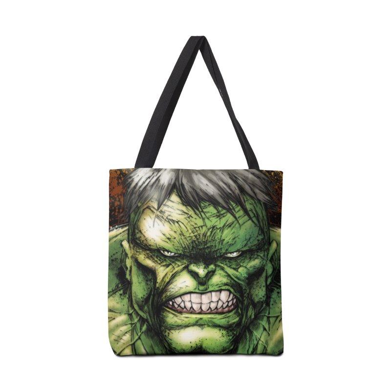 Hulk Accessories Tote Bag Bag by Evolution Comics INC