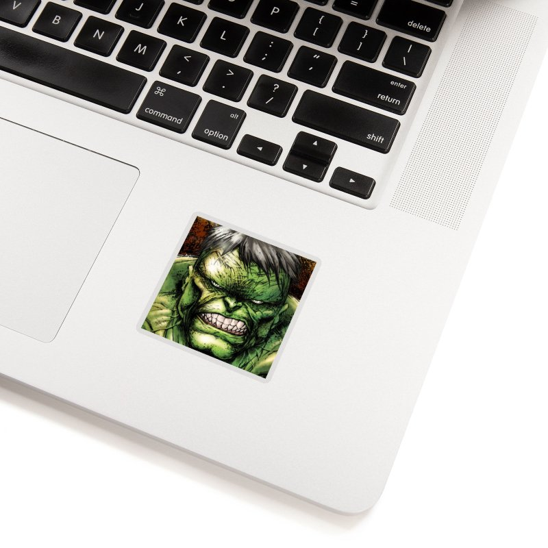 Hulk Accessories Sticker by Evolution Comics INC