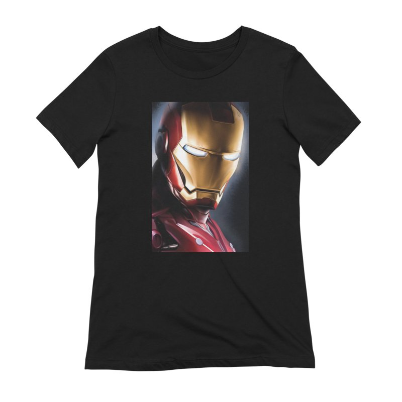 Iron Man Women's Extra Soft T-Shirt by Evolution Comics INC