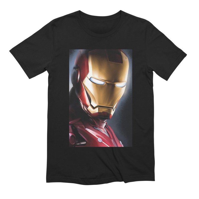 Iron Man Men's Extra Soft T-Shirt by Evolution Comics INC